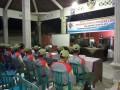 Babinsa & Bhabinkamtibmas  Kompak Bekali Anggota Linmas Desa Dawarblandong
