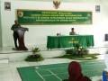 Hikmah Maulid Nabi Muhammad SAW 1439 H/2017 yang di selenggarakan di aula kadetsuwoko Kodim 0812 Lamongan