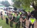 Koramil Parengan Laksanakan Patroli Gabungan Antisipasi Kamtibmas