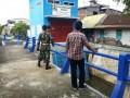 Dandim Bojonegoro, Mengecek Wilayah Yang Menjadi Langganan Banjir Luapan Bengawan Solo