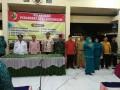 Danramil 0815/06 Bersama Forpimka Kemlagi Hadiri Pelantikan 7 Perangkat Desa Kedungsari