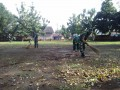 Persiapan HJK, Kodim 0815 Gelar Karya Bakti Di Pendopo Agung Trowulan