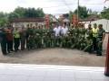 Koramil 0815/09 Bersama Polsek Mojosari Berikan Pembinaan Dan Pelatihan Linmas