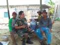 Tugas Rutin dalam pelaksanaan Komsos untuk mewujudkan Kemanunggalan TNI dan Rakyat