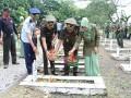 Sambut Hari Juang Kartika Ke 72, Anggota Kodim 0812 Gelar Tabur Bunga Di TMP Kusuma Negara Lamongan