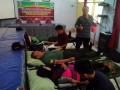 Koramil 0815/13 Kutorejo Berperanserta Dalam Bakti Sosial Donor Darah