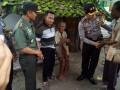 Bersama Kapolres, Dandim 0813 Bojonegoro Kunjungi Kediaman Mbah Taminah