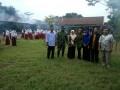 Babinsa Koramil 0814/11 Sumobito Hadang Serangan Nyamuk