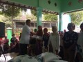 Babinsa Desa Mlangi Koramil 0811/08 Widang Kawal  Pembagian Beras Bantuan Dinsos