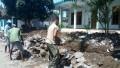 Babinsa Koramil 0814/18 Ikut Membantu Pembangunan Desa
