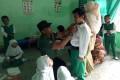 Babinsa Koramil 0811/06 Plumpang Dukung Pelaksanaan Vaksin Difteri