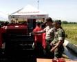 Poktan Gabungan Se-Jatim Mendapat Pelatihan Cara Operasional Mesin Mini Combine Di Mojokerto