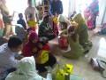 Peduli Kesehatan, Babinsa Koramil 0815/14 Dlanggu Dampingi ORI Difteri