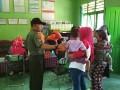 Babinsa Koramil Montong Dampingi Kegiatan  Penyuntikan Vaksin Difteri