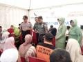 Kodim 0815 Mojokerto Gandeng PT. Sido Muncul Gelar Pengobatan Gratis