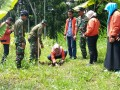 Peranserta Koramil 0815/15 Jatirejo Dalam Aksi Hijaukan Bumi Bersama Lions Club – TSA