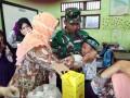 Peduli Kesehatan, Babinsa Koramil 15/Jatirejo Dampingi 1.160 Siswa Dapatkan Layanan Imunisasi Difteri