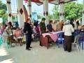Pencairan Bansos PKH Di Wilayah Bangsal & Puri Mendapat Pengamanan Koramil & Polsek
