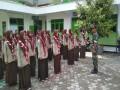 Melatih Kedisiplinan Generasi Muda Sejak Dini, Koramil 0812/17 Paciran Latih PBB Siswa Siswi MA Almuhtadi