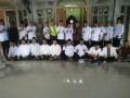 Babinsa Purworejo bersama Pemdes dan Takmir masjid al-amin  Sambut Tim Penilai Lomba Managemen Masjid dari Pemkab Tuban