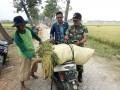 Bersama Perangkat Desa. Danramil Kedungpring Tinjau Langsung Rencana Lokasi TMMD