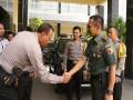 Realitas Soliditas TNI Polri Dalam Sambang Mapolres