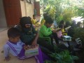 Si Mokos Koramil 0813-11 Padangan Bekali Wasbang Siswa Siswi SD Setempat