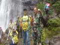 Dandim 0814 Jombang Kunjungi Air Terjun Tretes Pangajaran