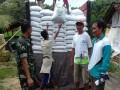 Koramil 0811/06 Plumpang Kawal Pendistribusian Benih Kedelai