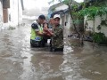 Banjir Melanda Jombang Koramil Jajaran Kodim 0814 Jombang Siaga
