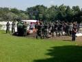 Tembakan Salvo Lepas Jenazah Veteran Di TMP Gajah Mada