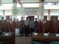 Danramil 0815/15 Bersama Forpimka Jatirejo Sambut KKN Mahasiswa IAI Uluwiyah