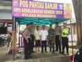 Babinsa Tunggal Pager Koramil 0815/11 Bantu Pendirian Pos Pantau Banjir