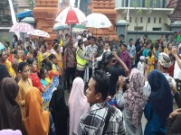 Tingkatkan sinergitas tiga pilar dengan para tokoh agama dalam amankan jalanya perayaan Hari Raya Nyepi di Kec Balun Kab Lamongan