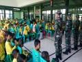Kenalkan Tugas-Tugas Tni, Siswa-Siswi Tk Alam Aba Klangon Kunjungi Makodim 0813 Bojonegoro