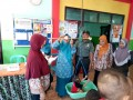 Komsos, Babinsa Koramil 0815/11 Pungging Hadir Di Acara Lomba PMT B2SA Posyandu