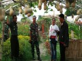 Bangga Produk Lokal Dalam Tinjau Budidaya Labu