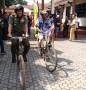 Dandim 0812 Beserta Forkopimda sambut Kirab Sepeda Tua Internasional Veteran Cycling Association (IVCA) di Lamongan