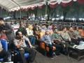 Danramil Pesantren Menghadiri Pagelaran Wayang Kulit Yang Menjadi Hiburan Di Malam Minggu