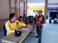 Tim Kesehatan TMMD Kodim 0814 Jombang Jaga Kesehatan Warga Dan Satgas