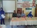 Bati Tuud Koramil 0809-Wates Gandeng Lintas Sektor Dalam Penanganan AIDS/HIV