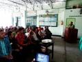 Pabung Kodim 0815 Bekali Materi Ke-Bhinnekaan Pada Pembinaan Jaring Teritorial