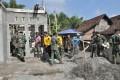 Wujud Sinergitas TNI Dan Polri Bangun Rumah TMMD 101 Jombang