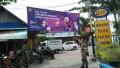 Spanduk Bertemakan TNI Dan Polri Siap Mensukseskan Asian Games XVIII 2018
