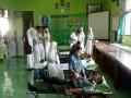 Peringati Hari Kartini, Koramil Montong Gandeng Pelajar Donor Darah
