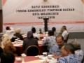 Forkopimda Kota Mojokerto gelar Rakor menjelang Perhelatan Pilkada Tahun 2018