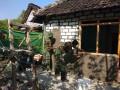 Wujud Kemanunggalan TNI Dengan Rakyat Dalam Bangun Belasan Rumah (RTLH)