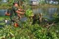 Wujud kepedulian TNI dalam Aksi Jum'at Bersih peduli lingkungan