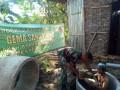 Wujud kepedulian TNI dalammensukseskan Program Jambanisasi Bagi Warga