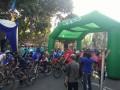 Ribuan peserta Fun Bike meriahkan HJL (Hari Jadi Lamongan ) ke 449 Ta 2018 di alun alun lamongan